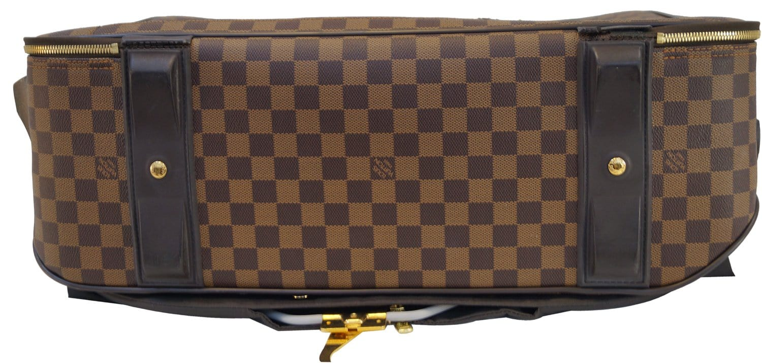 7598176d7229 Authentic LOUIS VUITTON Damier Ebene Pegase 55 Business Suitcase Travel Bag  TT1448