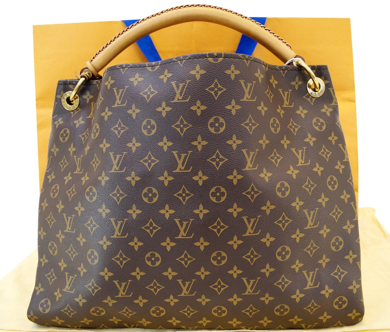 f4ea50cf915a Authentic LOUIS VUITTON Monogram Artsy GM Tote Hobo Handbag Limited E3198