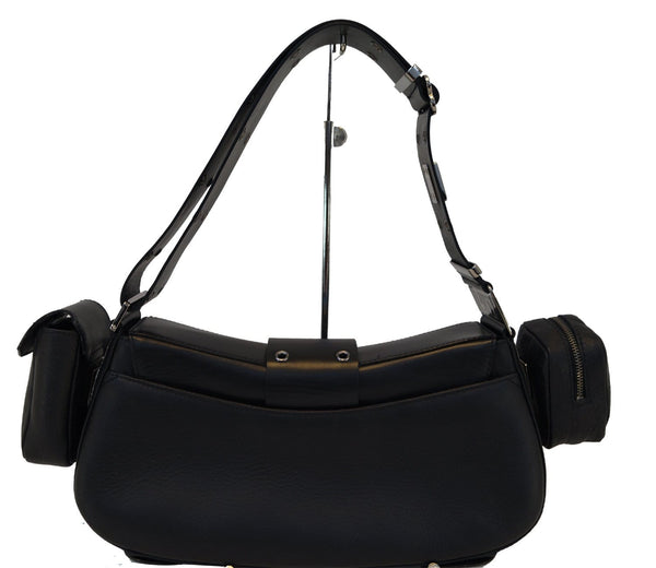 CHRISTIAN DIOR Bag - Street Chic Columbus Avenue Black Multipocket