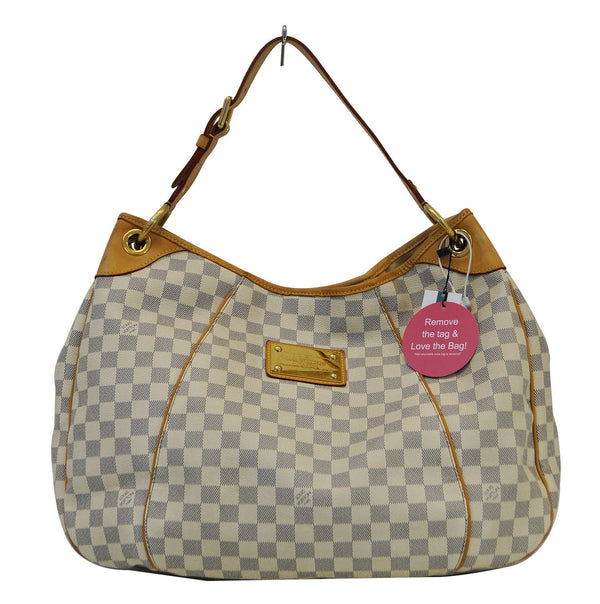LOUIS VUITTON Damier Azur Galliera GM Shoulder Bag - 30% Off