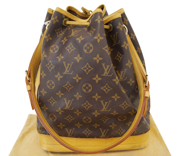 Authentic LOUIS VUITTON Monogram Canvas Noe Large Shoulder Bag TT1425