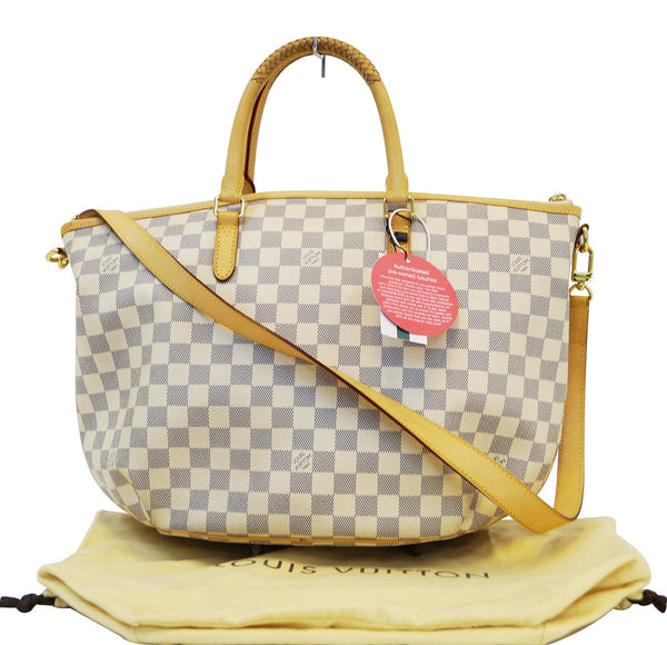 LOUIS VUITTON Damier Azur Riviera MM Handbag Shoulder Bag