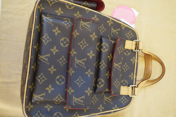 LOUIS VUITTON Monogram Canvas Excentri Cite Handbag - Final Call