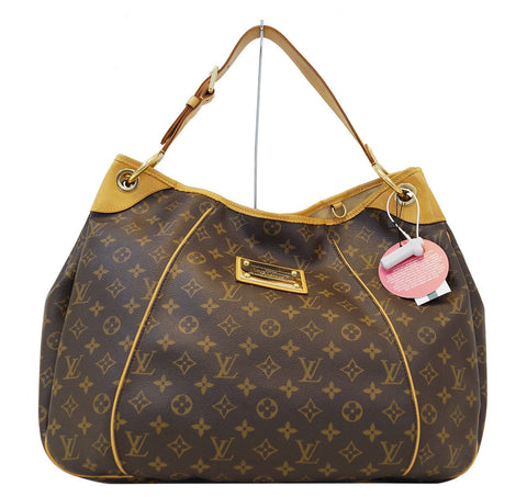 LOUIS VUITTON Monogram Galliera GM Shoulder Tote Handbag