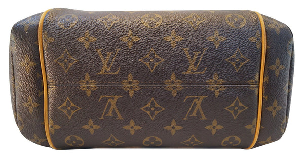 LOUIS VUITTON Monogram Totally Pm Brown Shoulder Handbag - 30% Off
