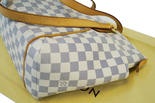 LOUIS VUITTON Damier Azur Totally Pm Shoulder Handbag
