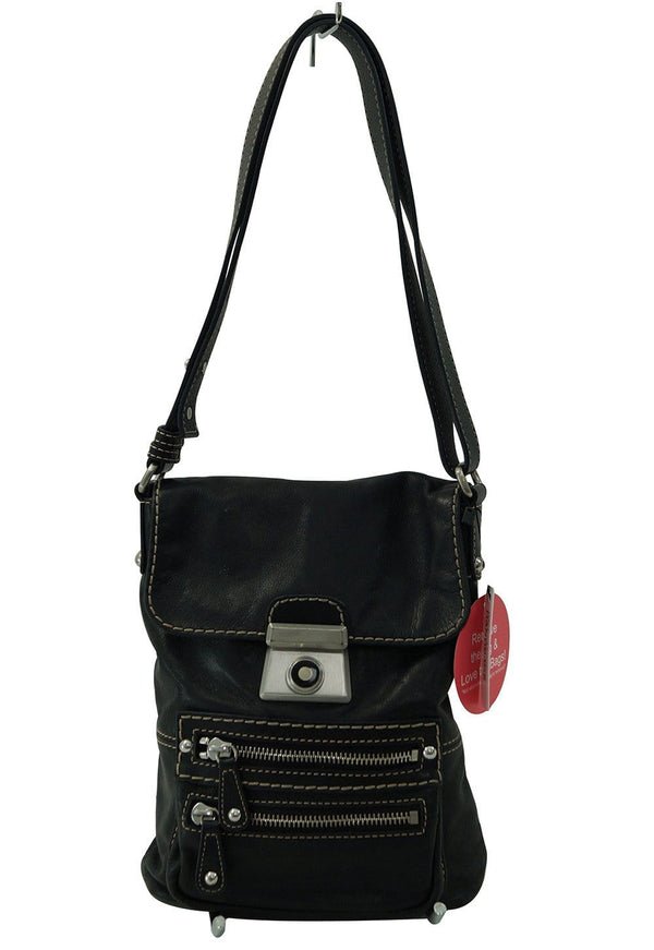 Kate Landry Black shoulder Crossbody Bag