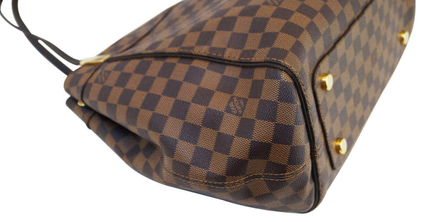 LOUIS VUITTON Damier Ebene Marylebone GM Shoulder Handbag