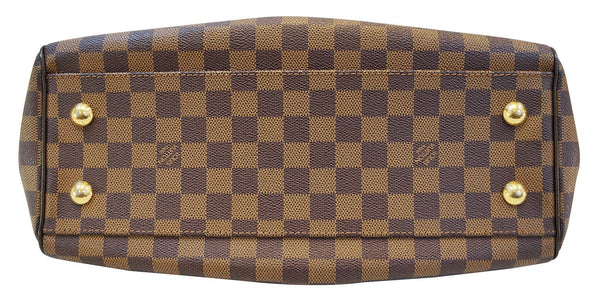 LOUIS VUITTON Trevi PM Damier Ebene 2way Shoulder Handbag