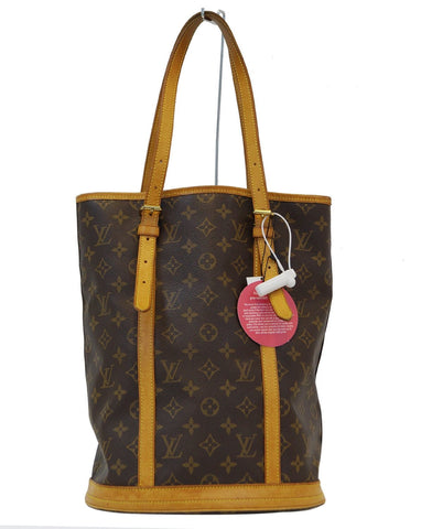 LOUIS VUITTON Monogram Canvas Bucket GM Shoulder Bag