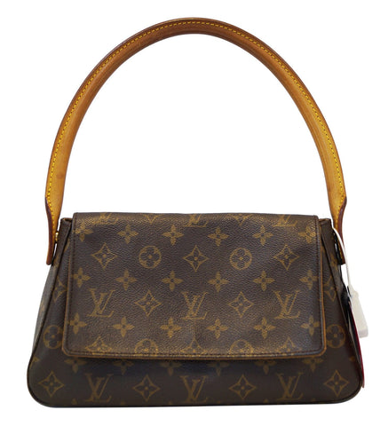 LOUIS VUITTON Monogram Mini Looping Shoulder Handbag