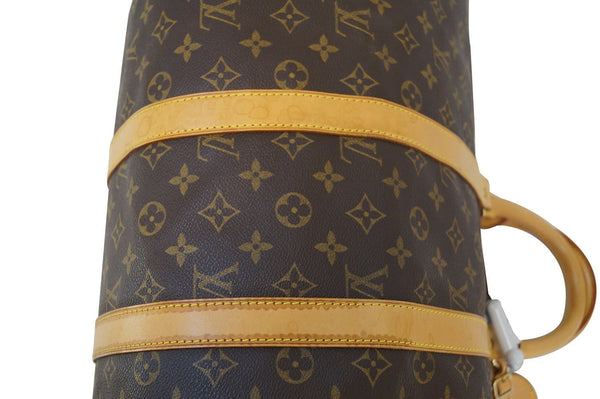 LOUIS VUITTON Monogram Keepall 45 Boston Bag