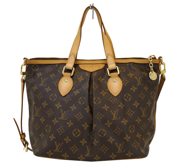 LOUIS VUITTON Monogram Palermo PM Tote Shoulder Bag