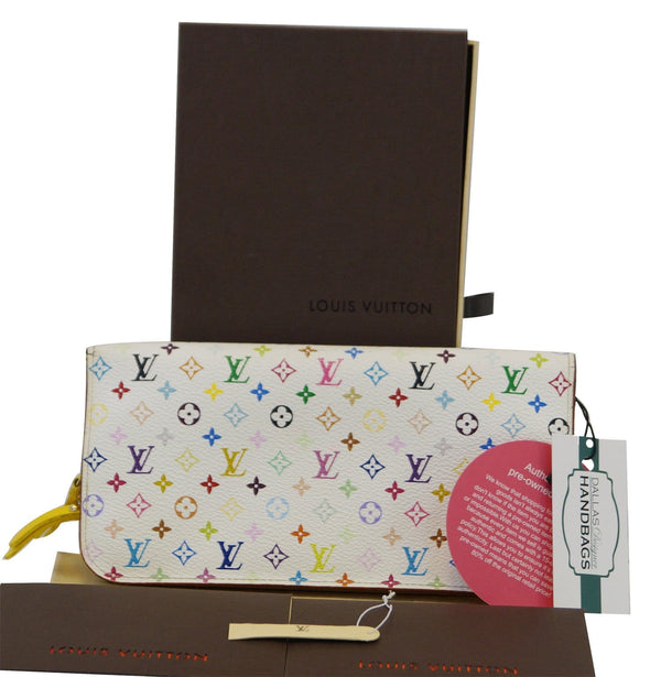 LOUIS VUITTON Monogram Multi-Color Insolite  Clutch Wallet