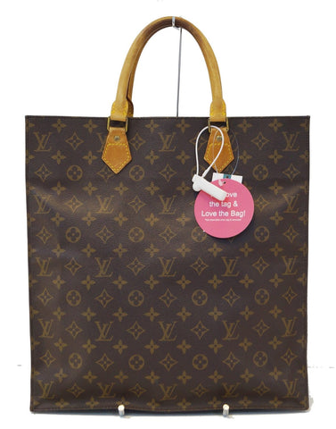 LOUIS VUITTON Monogram Canvas Sac Plat Tote Bag