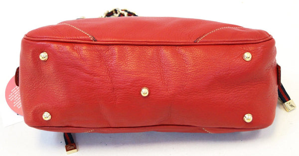 Gucci Shoulder Bag Cruise Red Leather Chain - gucci red bag