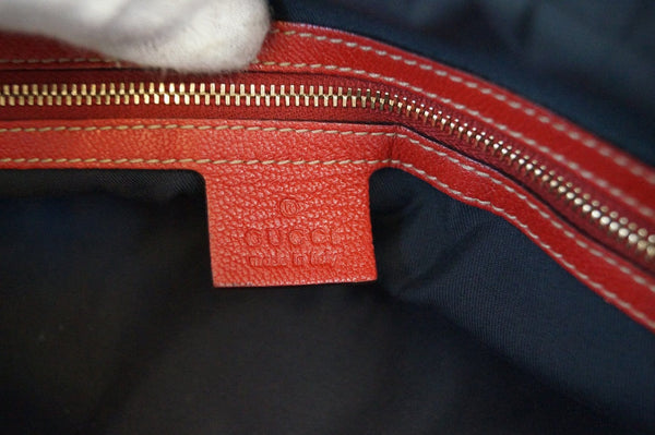 Gucci Shoulder Bag Cruise Red Leather Chain - gucci zip