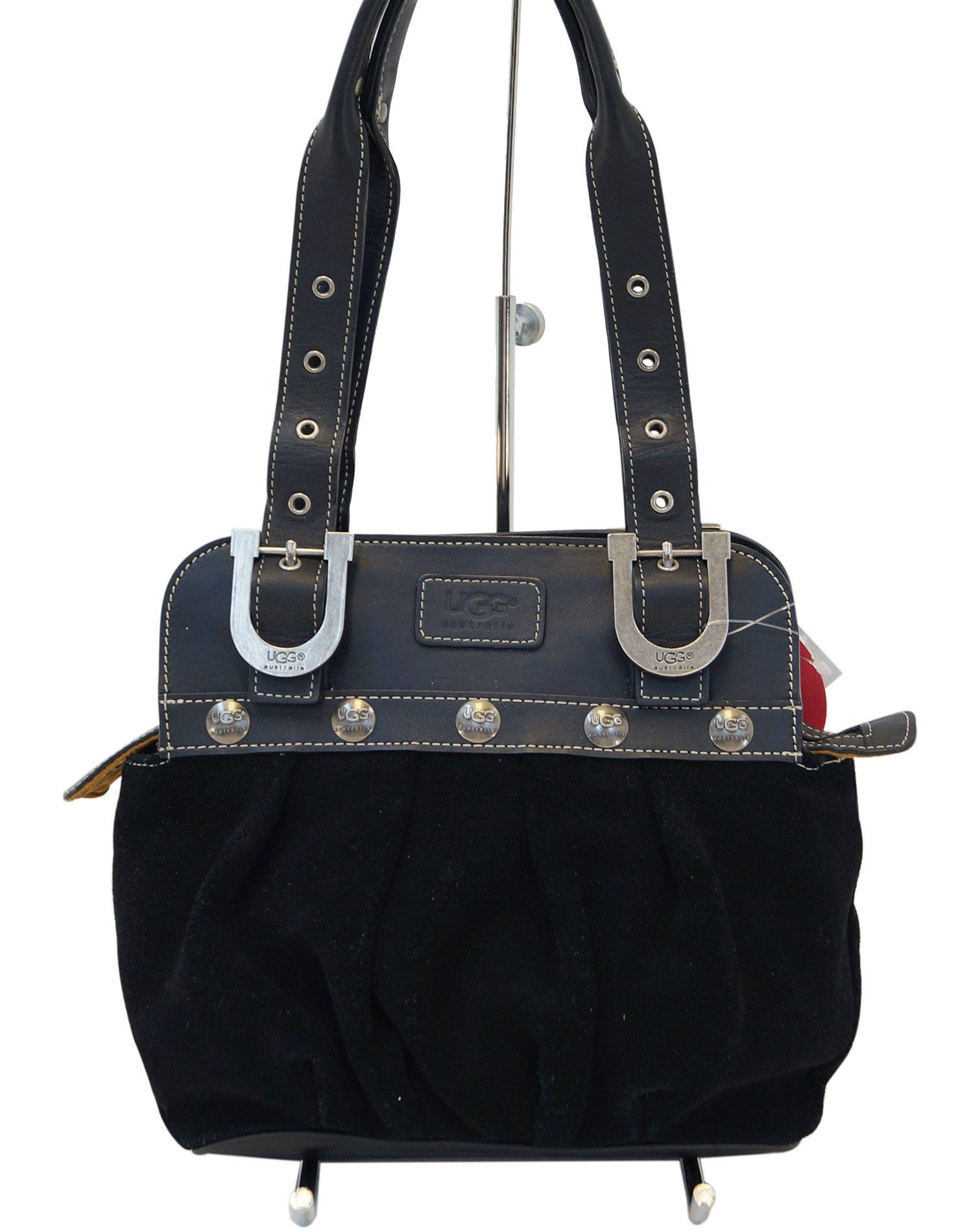 a6cd9d64c02 UGG Australia Black Suede Leather Shoulder Bag - Sale
