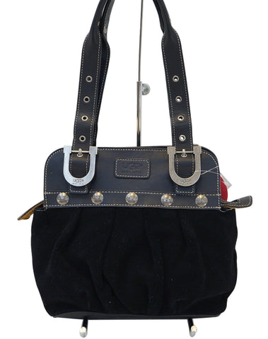 UGG Australia Black Suede Leather Shoulder Bag - Sale