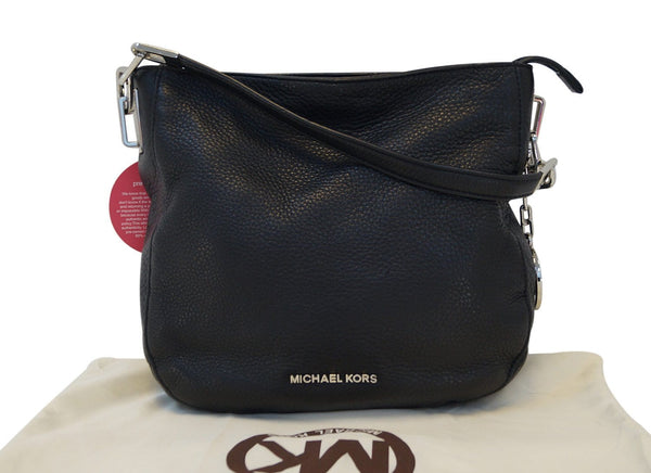 MICHAEL KORS Black Leather Crossbody Shoulder Bag E2982