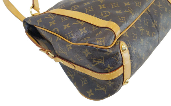 LOUIS VUITTON Monogram Stresa GM Tote Shoulder Bag