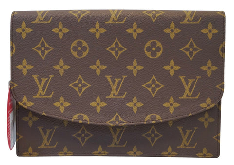 LOUIS VUITTON Monogram Pochette Rabat Clutch Bag
