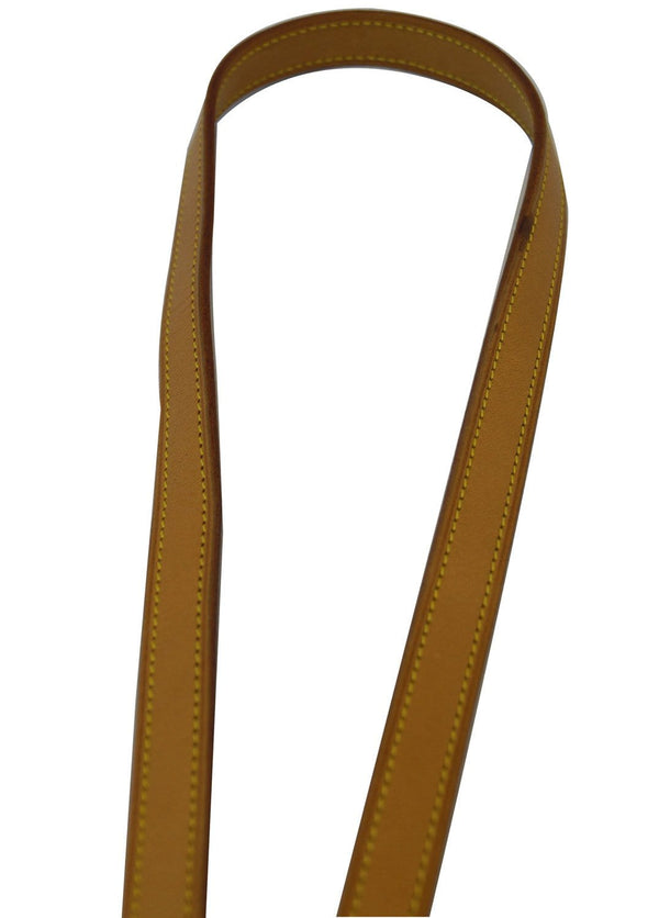 LOUIS VUITTON Leather For Eva and Similar Beige Shoulder Strap