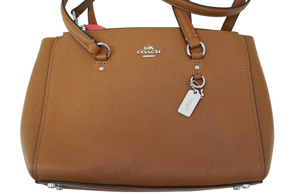 COACH Brown Leather Crossbody Shoulder Bag E3027