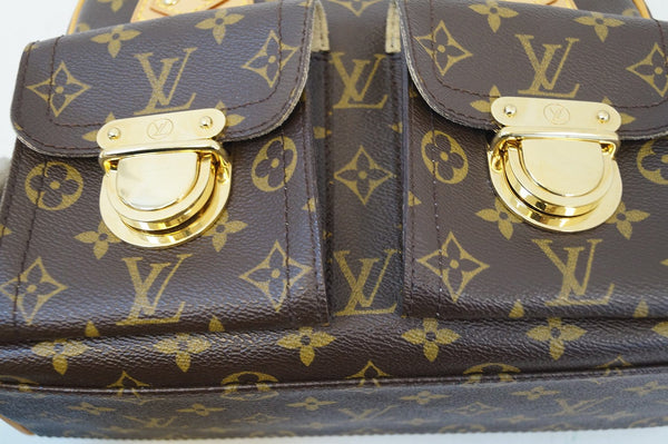 LOUIS VUITTON Monogram Manhattan PM Handbag
