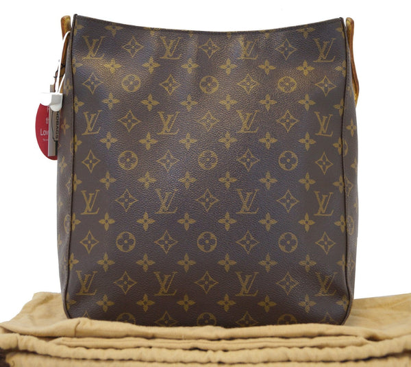 LOUIS VUITTON Monogram Canvas Looping GM Shoulder Bag