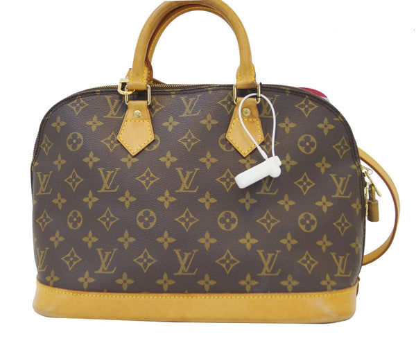 LOUIS VUITTON Alma Monogram Brown with Strap Handbag- Final Call