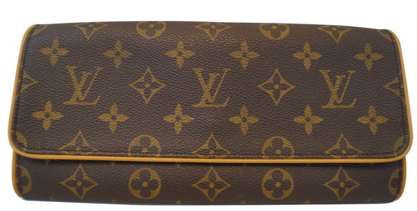 LOUIS VUITTON Monogram Pochette Twin GM Shoulder Pouch