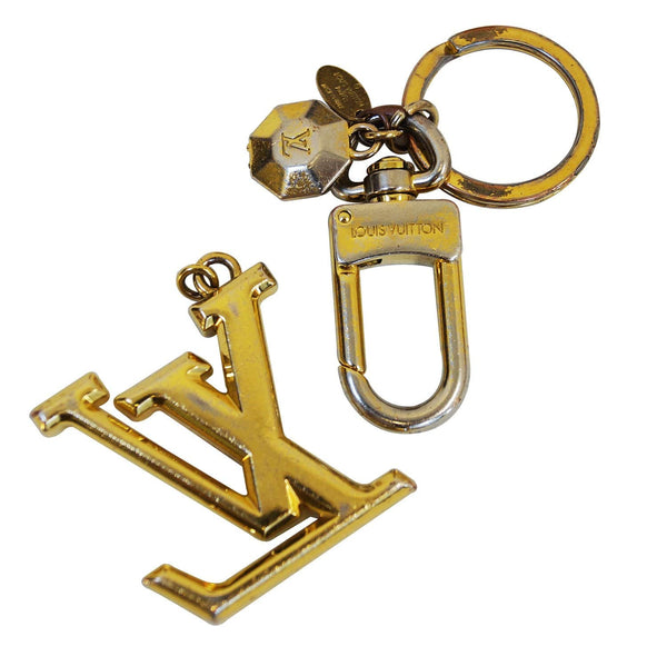 LOUIS VUITTON LV Facettes Key Holder Gold- Final Call