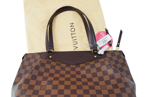 LOUIS VUITTON Damier Westminster GM Tote Shoulder Handbag - Final Call