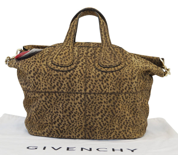 Givenchy Nightingale Calf Leather Brown Medium Bag - Final Call