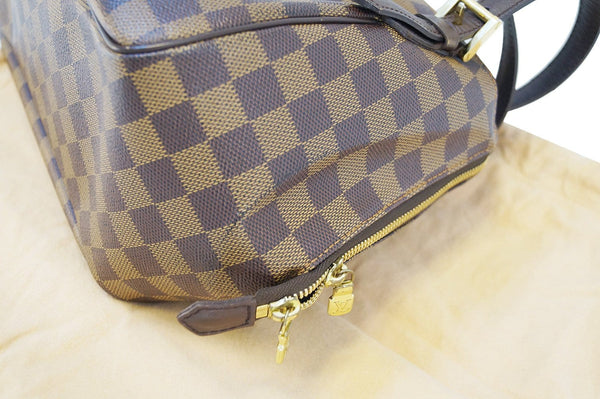 LOUIS VUITTON Toile Damier Ebene Belem MM Shoulder Handbag- Final Call