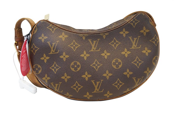LOUIS VUITTON Monogram Pochette Croissant PM Shoulder Bag