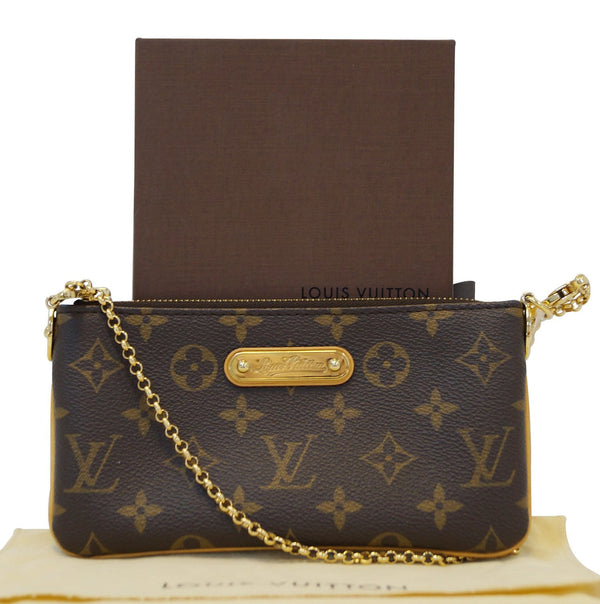 LOUIS VUITTON Monogram Pochette Milla MM Pouch