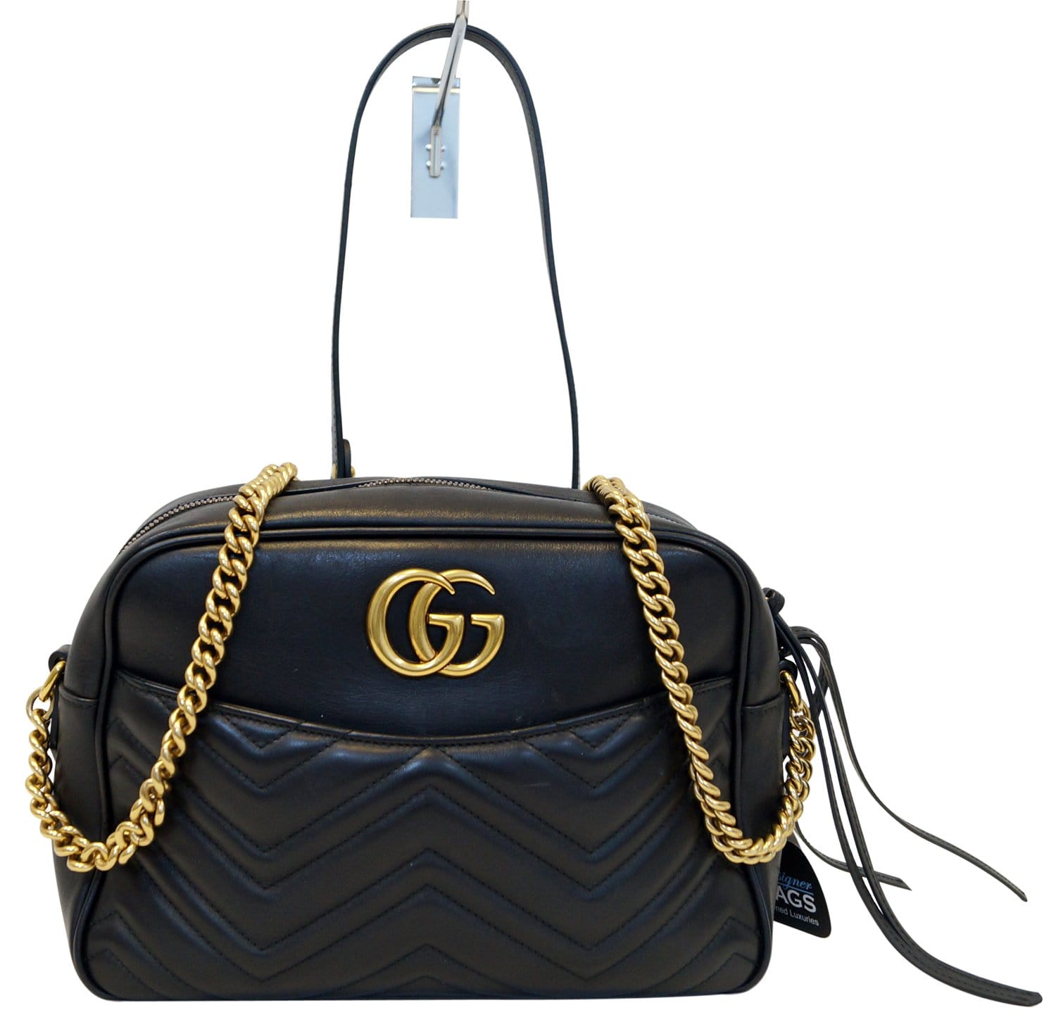 316136fab650 GUCCI GG Marmont Medium Matelasse Shoulder Crossbody Bag 443499