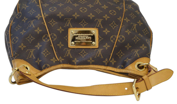 Louis Vuitton Monogram Galliera PM Brown Shoulder Handbag