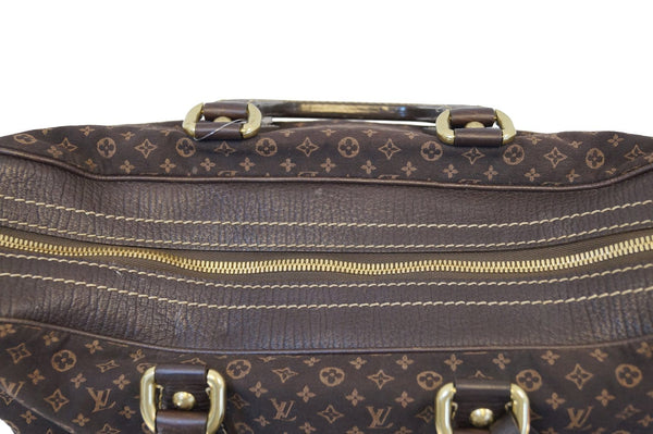 LOUIS VUITTON Monogram Mini Lin Canvas Initiales Isfahan Carryall Bag