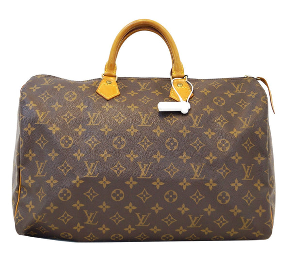 LOUIS VUITTON Speedy 40 Monogram Canvas Handbag