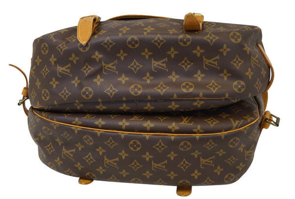 LOUIS VUITTON Monogram Saumur 43 Shoulder Bag