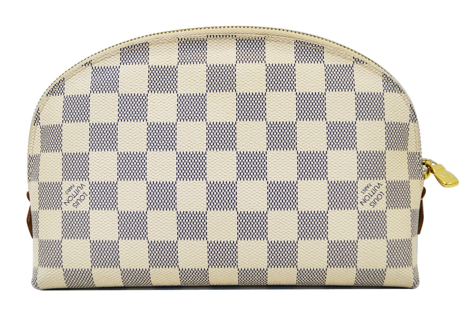 39a880a94d92 LOUIS VUITTON Damier Azur Pochette GM Cosmetic Pouch - Final Call