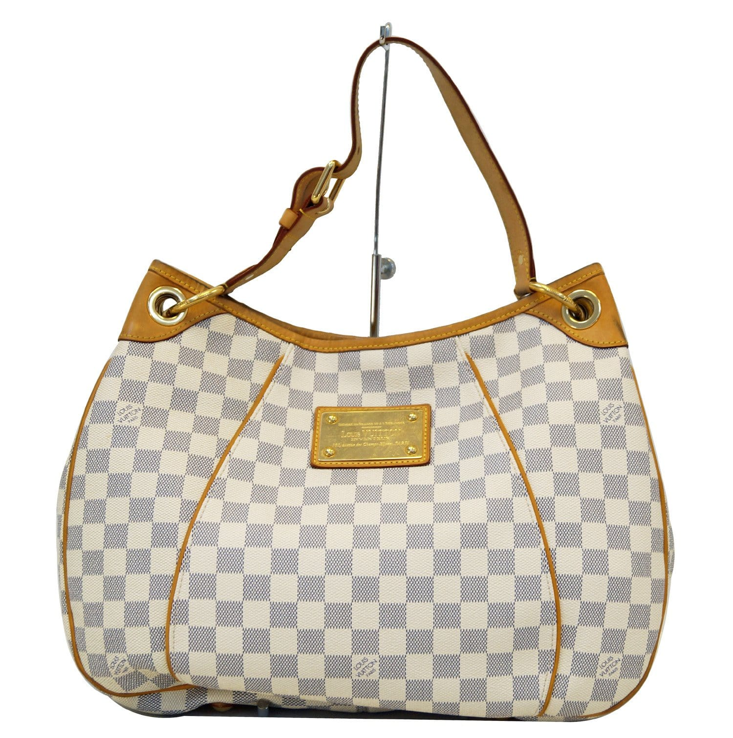e398fbebca309 LOUIS VUITTON Damier Azur Galliera PM Shoulder Bag