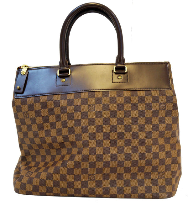 LOUIS VUITTON Damier Ebene Greenwich PM Boston Bag - 30% Off