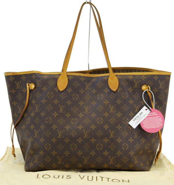 LOUIS VUITTON Monogram Neverfull GM Shoulder Bag