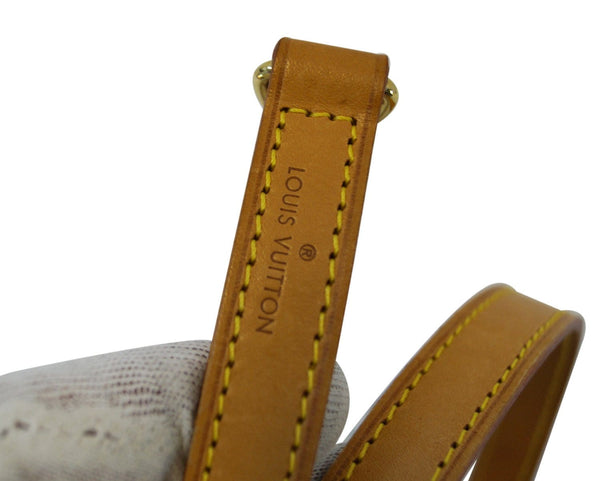 LOUIS VUITTON Leather Brown Shoulder Strap