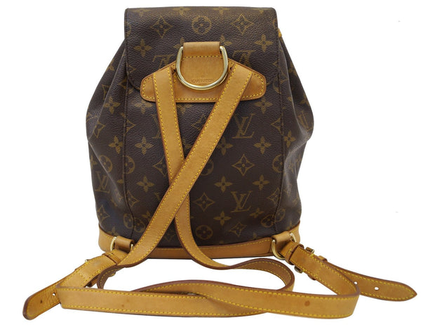LOUIS VUITTON Monogram Montsouris MM Backpack Bag