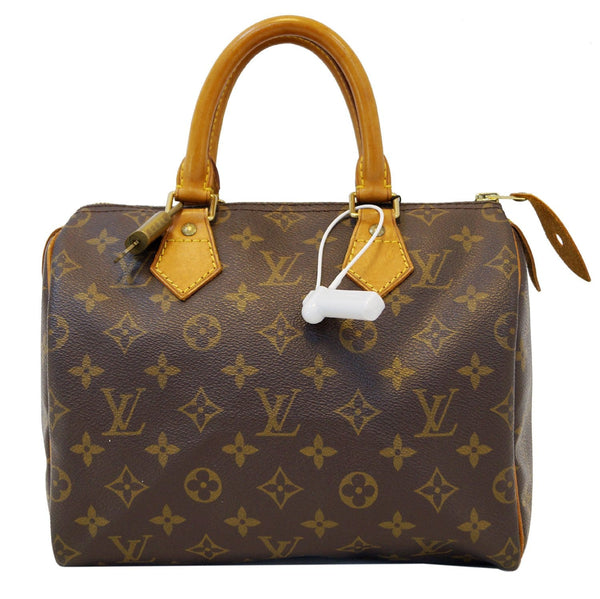 LOUIS VUITTON Monogram Speedy 25 Brown Hand Bag